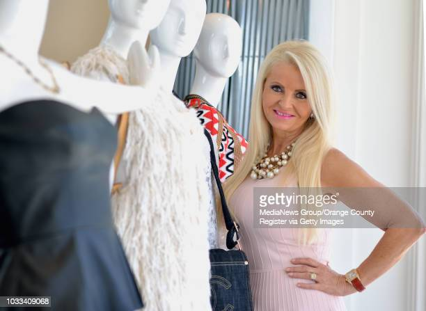 Kirsten Prosser fashion stylist and owner of OnQue is shown in her Corona del Mar store ///ADDITIONAL INFORMATION coastMyOCProsser Ð 6/24/15 Ð...