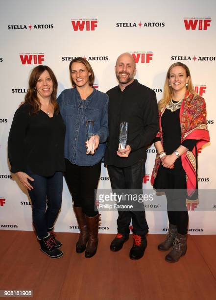 Kirsten Schaffer Amy Adrion David Harris and Carolyn Zwiener join Stella Artois and Women In Film for a live round table discussion celebrating the...
