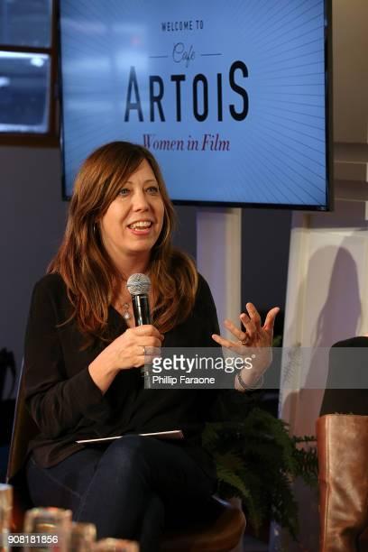 Kirsten Schaffer participates during the Stella Artois and Women In Film for a live round table discussion celebrating the power of film to inspire...