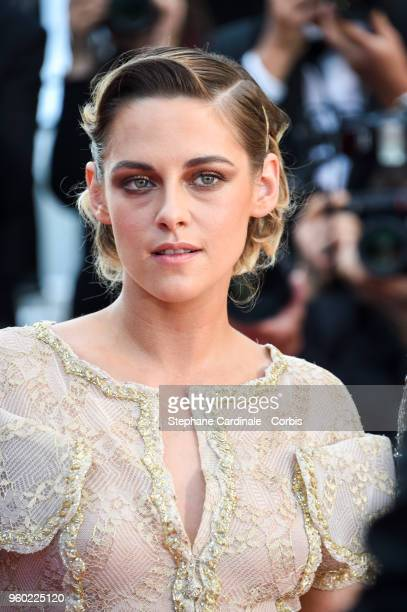 Kirsten Stewart attends the Closing Ceremony and the screening of The Man Who Killed Don Quixote during the 71st annual Cannes Film Festival at...