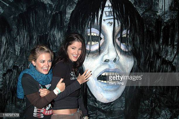 Kirsten Storms and Alexis Thorpe in The Grudge 2 Maze