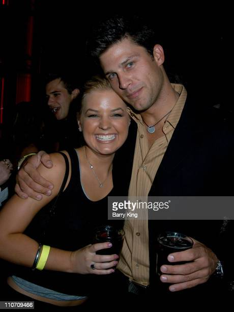 Kirsten Storms Greg Vaughan during An Evening With The Stars Benefit For The Desi Geestman Foundation at The Ivar in Hollywood California United...
