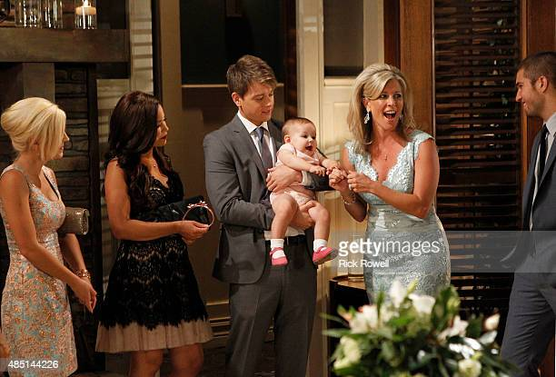 HOSPITAL Kirsten Storms Teresa Castillo Chad Duell Ava/Grace Scarola Laura Wright and Bryan Craig in a scene that airs the week of September 7 2015...