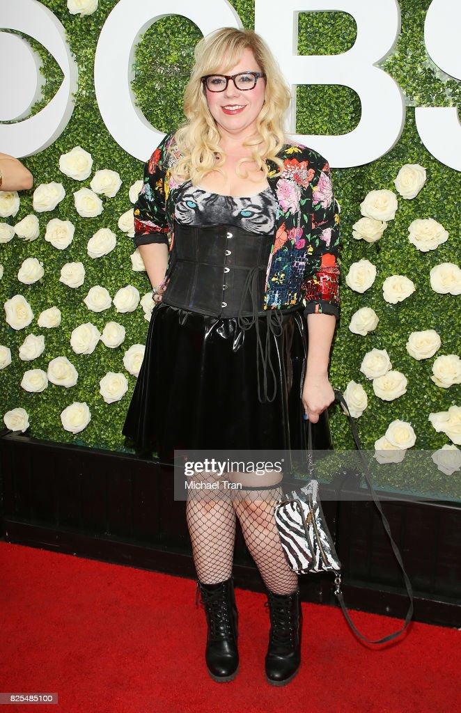 Kirsten Vangsness arrives to the 2017 Summer TCA Tour - CBS Television Studios' Summer Soiree held at CBS Studios - Radford on August 1, 2017 in Studio City, California.