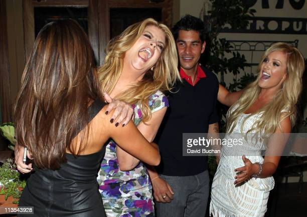 Kirstie Alley and Cheryl Burke and Lacey Schwimmer attends Cheryl Burke's 27th birthday celebration at BoHo Restaurant on May 2 2011 in Hollywood...
