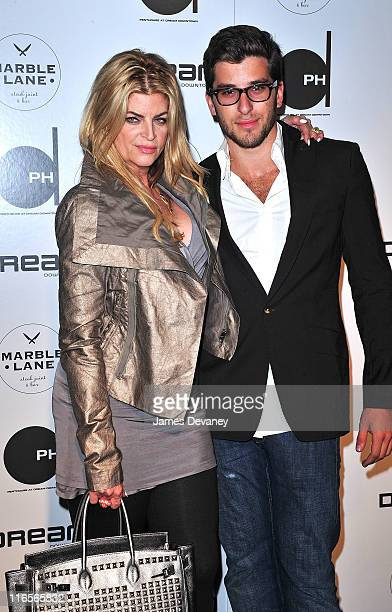 Kirstie Alley and guest attend the grand opening of Dream Downtown PHD Rooftop Lounge and Marble Lane restaurant on June 15 2011 in New York City