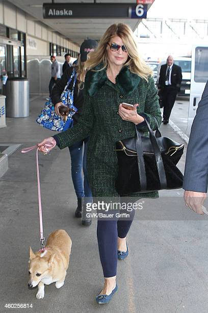 Kirstie Alley and Lillie Price Stevenson seen at LAX on December 10 2014 in Los Angeles California