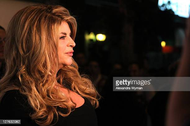 Kirstie Alley arrives at her Organic Liaison Store Grand Opening on March 9 2011 in Los Angeles California