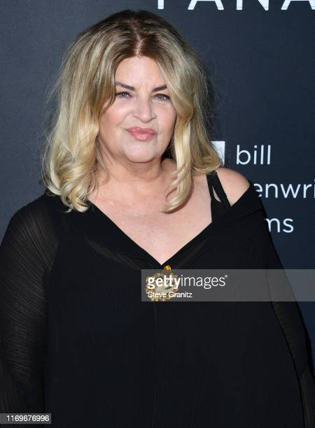 Kirstie Alley arrives at the premiere of Quiver Distribution's The Fanatic at The Egyptian Theatre on August 22 2019 in Hollywood California