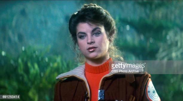 Kirstie Alley as Lieutenant Saavik in the movie Star Trek II The Wrath of Khan Release date June 4 1982 Image is a screen grab