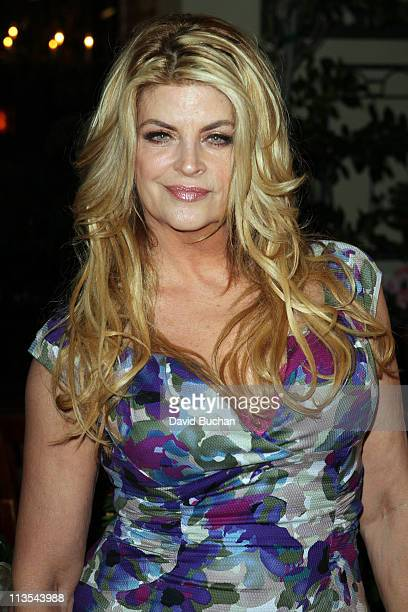 Kirstie Alley attends Cheryl Burke's 27th birthday celebration at BoHo Restaurant on May 2 2011 in Hollywood California