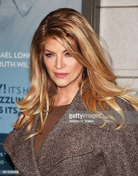 Kirstie Alley attends 'Constellations' Broadway opening night at Samuel J Friedman Theatre on January 13 2015 in New York City