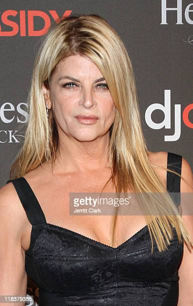 Kirstie Alley attends DJ Cassidy's 30th birthday celebration and the one year anniversary of Hennessy Black at the Intrepid SeaAirSpace Museum on...