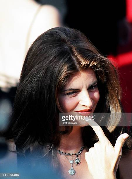 Kirstie Alley during 1993 Emmy Awards Arrivals in Los Angeles California