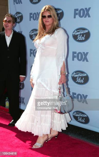 Kirstie Alley during 'American Idol' Season 4 Finale Arrivals at The Kodak Theatre in Hollywood California United States