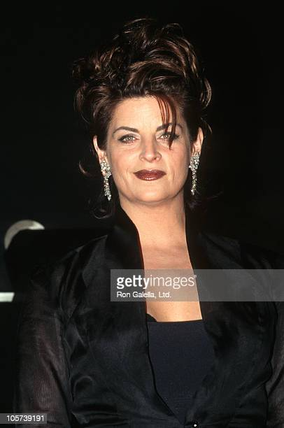 Kirstie Alley during GQ's 'Men of the Year' Awards November 28 1996 at Radio City Music Hall in New York City New York United States