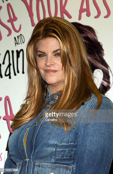 Kirstie Alley during Kirstie Alley Signs Her Book 'How to Lose Your Ass and Regain Your Life Reluctant Confessions of a BigButted Star' March 3 2005...