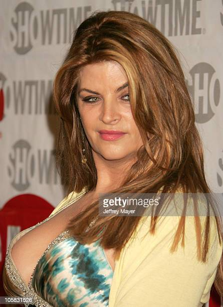 Kirstie Alley during Showtime's 'Fat Actress' Los Angeles Premiere Arrivals at Cinerama Dome at Arclight Cinemas in Hollywood California United States