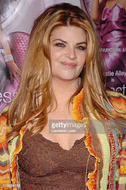 Kirstie Alley during Showtime's Fat Actress New York City Premiere Arrivals at Clearview Chelsea West in New York City New York United States