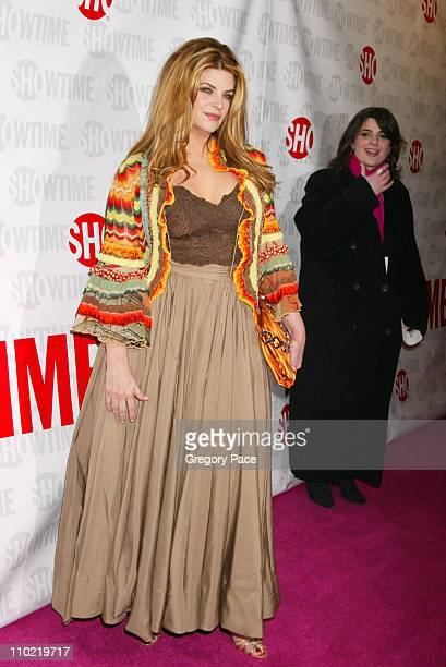 Kirstie Alley during Showtime's Fat Actress New York City Premiere Inside and Red Carpet Arrivals at Clearview Chelsea West in New York City New York...