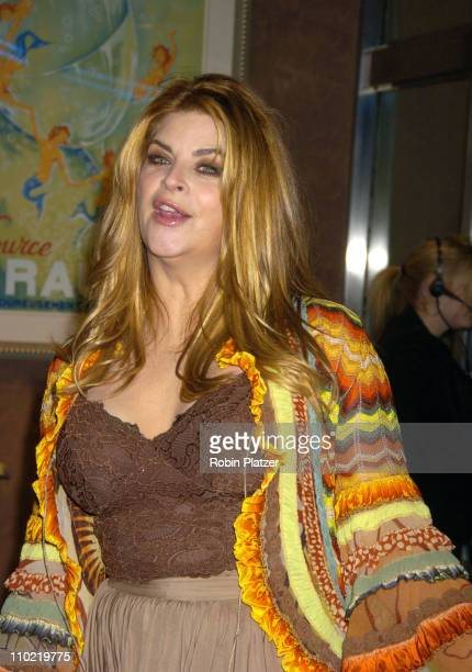 Kirstie Alley during Showtime's 'Fat Actress' New York City Premiere Inside Arrivals at Clearview Chelsea West in New York City New York United States