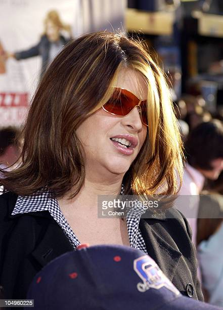 Kirstie Alley during The Lizzie McGuire Movie Premiere at The El Capitan Theater in Hollywood California United States