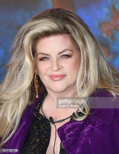 Kirstie Alley enters the Celebrity Big Brother house at Elstree Studios on August 16 2018 in Borehamwood England