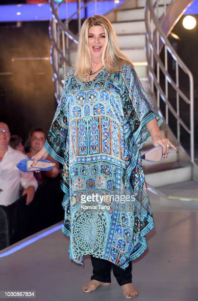 Kirstie Alley is evicted and comes second during the Celebrity Big Brother final 2018 at Elstree Studios on September 10 2018 in Borehamwood England