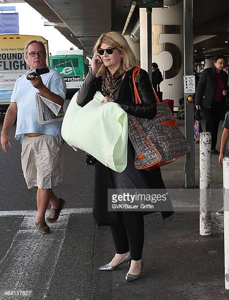 Kirstie Alley is seen on January 20 2014 in Los Angeles California