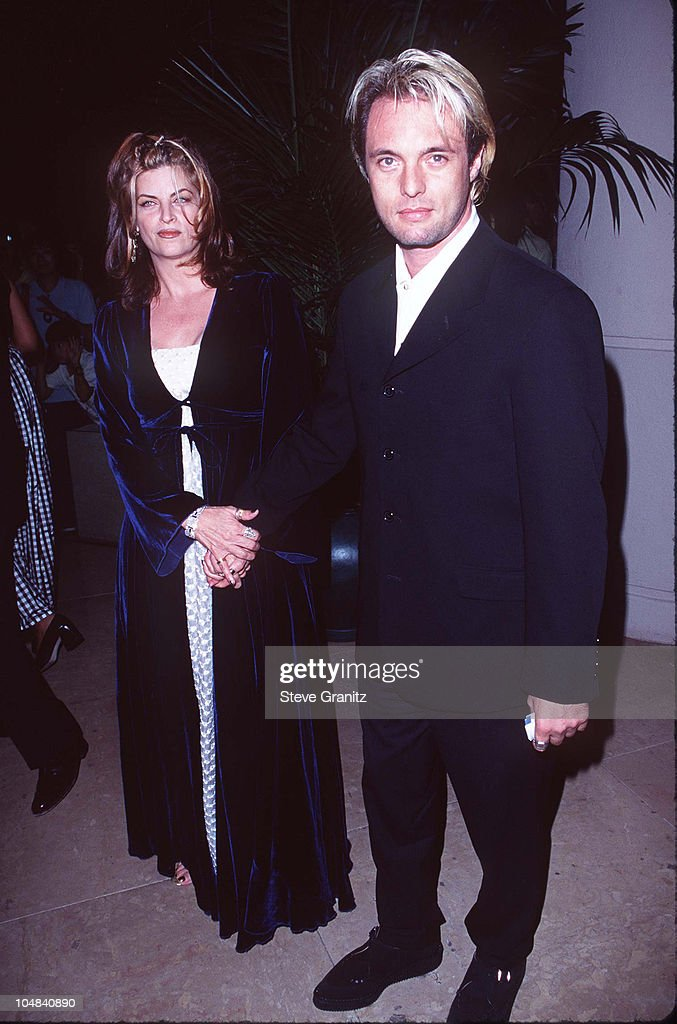 Kirstie Alley & James Wilder during The 12th Annual Moving Picture Ball American Cinematheque Award Honoring John Travolta at Beverly Hilton Hotel in Beverly Hills, California, United States.
