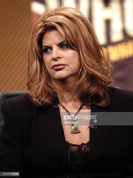 Kirstie Alley of Fat Actress during Showtime TCA Day at Universal Hilton in Los Angeles California United States