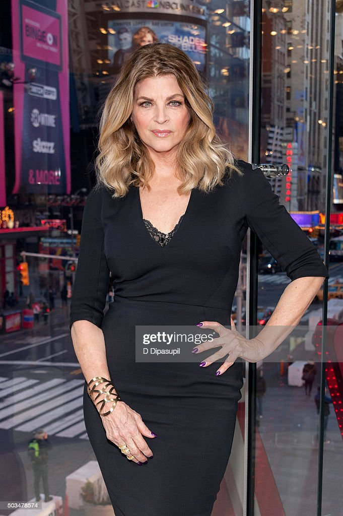 """Kirstie Alley Visits """"Extra"""""""