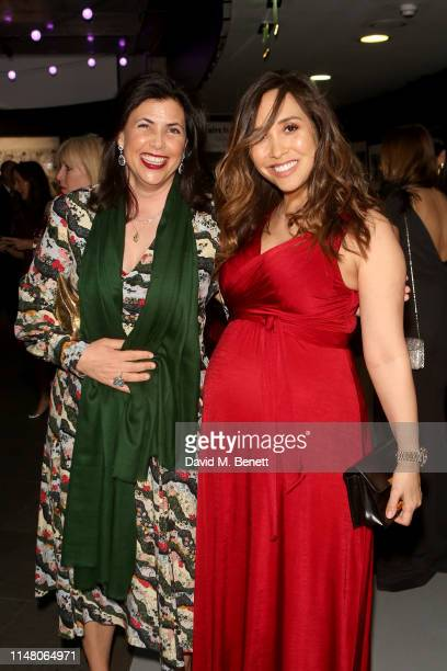 Kirstie Allsopp and Myleene Klass attend the Save The Children Centenary Gala at The Roundhouse on May 09 2019 in London England