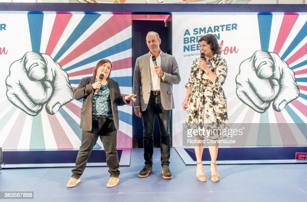 Kirstie Allsopp and Phil Spencer are touring the UK this summer to inspire Britain's households to choose a smart meter visiting the Merryhill Centre...