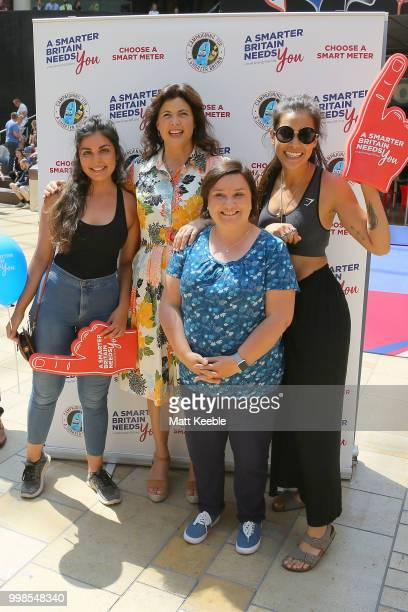 Kirstie Allsopp and Phil Spencer are touring the UK this summer to inspire Britain's households to choose a smart meter visiting Cabot Circus Centre...