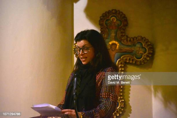Kirstie Allsopp attends an evening of Christmas Carols in aid of Bloodwise on December 10 2018 in London England