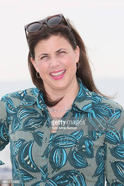 Kirstie Allsopp attends 'Love It Or List It UK Photocall as part of MIPCOM 2015 on La Croisette on October 5 2015 in Cannes France