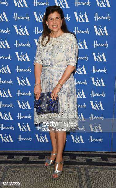 Kirstie Allsopp attends the 2017 annual VA Summer Party in partnership with Harrods at the Victoria and Albert Museum on June 21 2017 in London...