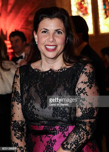 Kirstie Allsopp attends the Save The Children Winter Gala at The Guildhall on November 22 2016 in London England