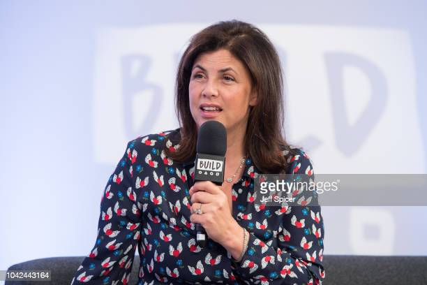 Kirstie Allsopp during a BUILD event at AOL London on September 28 2018 in London England