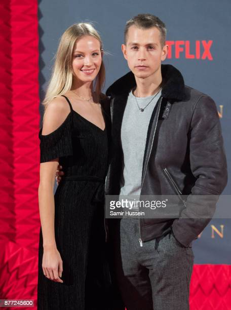 Kirstie Brittain and James McVey attend the World Premiere of season 2 of Netflix 'The Crown' at Odeon Leicester Square on November 21 2017 in London...