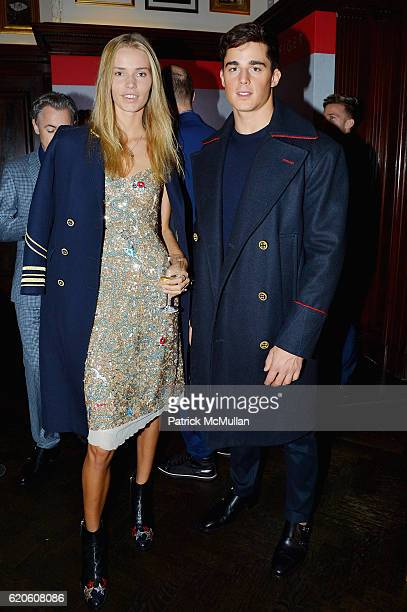 Kirstin Liljegren and Pietro Boselli at Tommy Hilfiger Celebrates the Launch of His Memoir 'American Dreamer My Life in Fashion Business' at The...