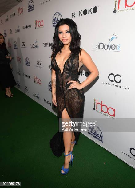 Kirstin Maldonado attends the 4th Hollywood Beauty Awards at Avalon Hollywood on February 25 2018 in Los Angeles California