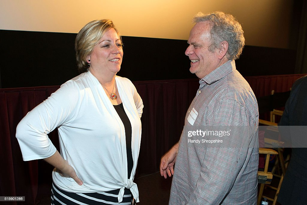 Kirstin Wilder and Andrew Freedman attend the Syracuse University Sophie Screening on March 15, 2016 in Beverly Hills, California.