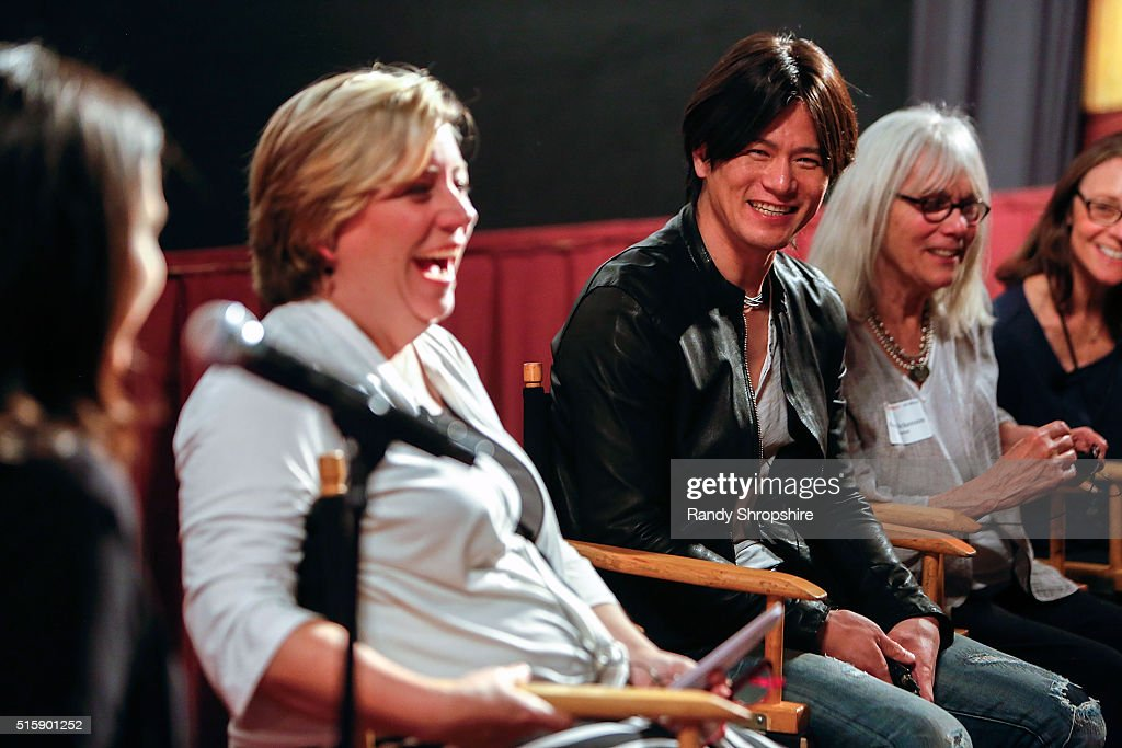 Kirstin Wilder, Takashi Yamaguchi, Nancy Dickenson and Donna Morong attend the Syracuse University Sophie Screening on March 15, 2016 in Beverly Hills, California.