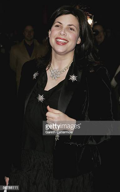 Kirsty Allsop attends the Conservative Party Black White Ball at Old Billingsgate Market on February 8 2006 in London England The Conservative Party...