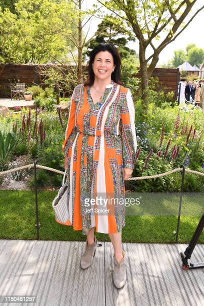 Kirsty Allsop attends the RHS Chelsea Flower Show 2019 press day at Chelsea Flower Show on May 20 2019 in London England