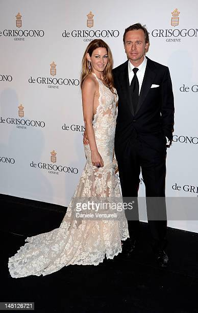 Kirsty and Ernesto Bertarelli attends the de Grisogono Party during the 65th Annual Cannes Film Festival at Hotel Du Cap on May 23 2012 in Antibes...