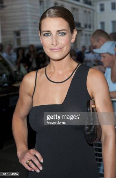Kirsty Gallacher Arrives At The Glamour Women Of The Year Awards 2009 At Berkeley Square Gardens.