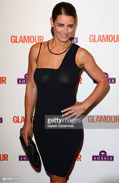Kirsty Gallacher arrives at the Glamour Women of the Year Awards 2009 at Berkeley Square Gardens on June 2 2009 in London England
